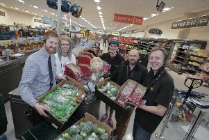 Fresh food is being donated to charities by Aldi in Skegness. ANL-190521-145629001