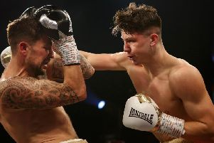 Kieron Conway could become British champion on June 21