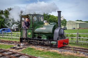 A team of dedicated volunteers donate an average of 3,500 hours every year to keep the railway open to the public. ANL-190506-072654001