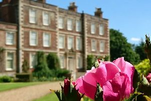Enjoy Rose Day at Gunby Hall.