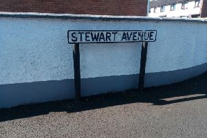 Stewart Avenue where eight cars were vandalised.