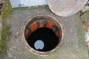 A shocking discovery was made at this old Victorian well in Hundleby on Sunday.
