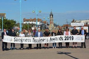 The launch of the Skegness Business Awards 2019.