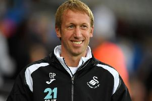 Graham Potter. Picture by Getty Images