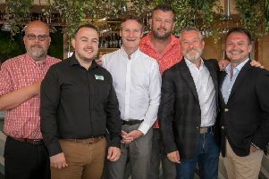 Greg Lashley (operations director), James Middleton (commercial manager, Tattershall Lakes), Andy Edge (chief commercial officer), Dan Steadman (sales director), Carl Castledine (ceo), Max Barraclough (creative director)