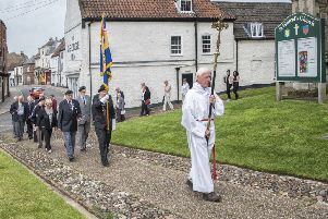 The procession in Alford