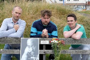 The Hey News team Ruari Barratt, William Stone and Peter Walsh