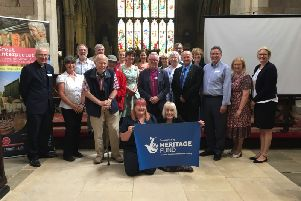 Launch of The Lincolnshire Wolds and Coast Churches Festival'Photography by Angela Montague, Push Creativity EMN-190729-135254001