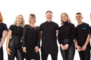 The team at Northampton hair salon G&E McIntyres is in the running for a top national hairdressing award.