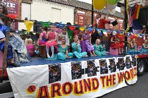 Children taking part in last year's Skegness Carnival parade. EMN-190508-161558001