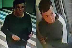 Police are releasing the CCTV images as they believe the woman may have vital information about the offence. Photos submitted by Warwickshire Police