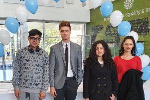 Stockwood Park pupils were thrilled with their results