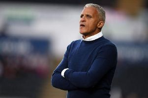 Headaches: Keith Curle is yet to decide on his team to face Macclesfield. Picture: Pete Norton