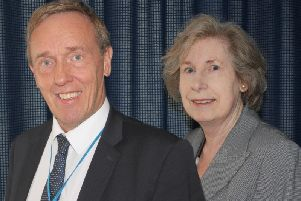 Council leader Chris Millar and deputy Liz Griffin will both stand down this autumn from their leadership roles