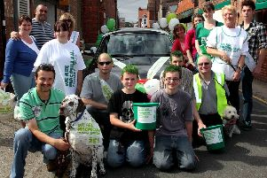 Raising funds for Macmillan Cancer Support 10 years ago.