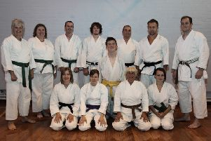 Members of the Shotokan Karate Club of Skegness 10 years ago.
