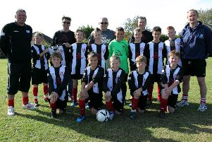 Spilsby Juniors Football Club's under 11s team 10 years ago.