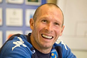 Michael Appleton admits he has 'unfinished business' at Fratton Park following his previous spell as boss. Picture: Robin Jones