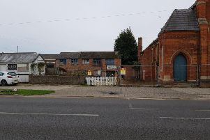 Site of plans for Skegness' first mosque on Roman Bank.