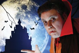 Dracula: One Bloody Fang After Another, coming to Skegness this week.