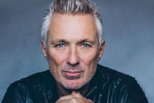 Martin Kemp, coming to Skegness this week.
