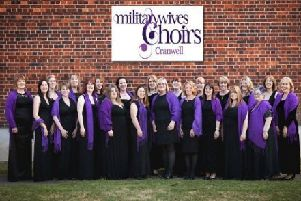 Cranwell Military Wives Choir. EMN-180921-161948001
