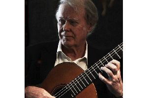 Guitarist John Mills will be in concert in Sleaford. EMN-180310-153657001