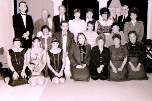 The cast of Heckington Players' first variety show back in 1993. EMN-180928-084259001