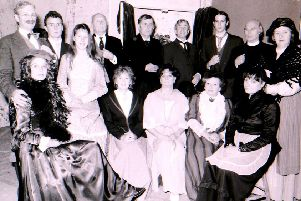 Sleaford Little Theatre's cast of When We Are Married, in rehearsal back in 1993. EMN-180510-210610001