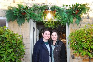 Kirsty Kershaw and Katie Mace held a Jingle and Mingle festive event to thank customers and supporters of the Leadenham Teahouse. EMN-181220-111153001