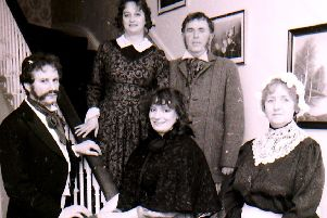 The Sleaford Little Theatre cast of Gaslight back in January 1994. EMN-190102-111544001