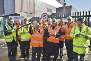A first look inside the new Household Recycling Centre