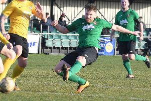 Tom Siddons scored his first goals for Town since his return to the club in January. Picture: David Dawson EMN-190226-091926002