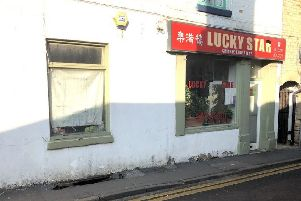 A large hole has opened up in the pavement along Westgate in Sleaford near the Lucky Star takeaway. EMN-190226-124736001