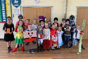 Winchelsea Primary School children in Ruskington dressed up for World Book Day 2019.