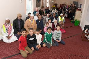 Sleaford Islamic Centre, open to visitors as part of Visit My Mosque day. EMN-190403-102113001