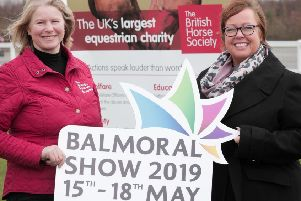 Vickie White, RUAS and Susan Spratt, BHS Manager for Northern Ireland & Republic of Ireland are delighted to announce the sponsorship partnership for Balmoral Show 2019.