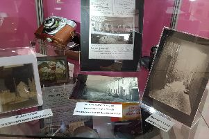 The local photography display in Sleaford Museum. EMN-190316-105739001