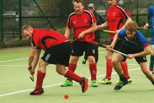 Matt Courtman in the thick of the action during Melton Second XI's 4-1 home defeat to Coventry EMN-190319-105037002