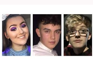 The victims of the crush outside a disco in Cookstown