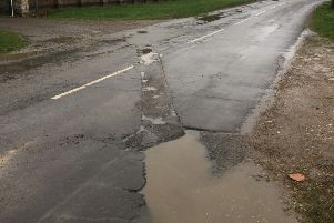 Pitted - potholes are getting worse and they are being overlooked by the reporting system, claims Craig Wood from Burton Pedwardine parish meeting. EMN-190319-133213001