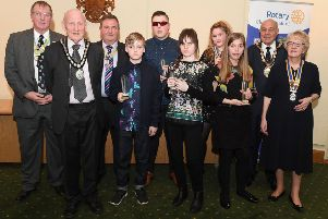 Children of Courage Awards, organised by Rotary Club of Sleaford. EMN-190324-103230001