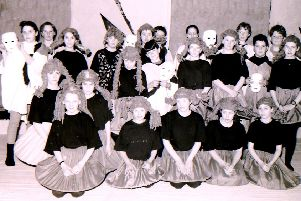 Dancers at the Cupid's Toe, Devil's Heel performance in Sleaford in 1994. EMN-190322-124625001