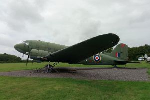 Fundraising for a hangar for the Dakota at Metheringham Airfield Visitor Centre. EMN-190504-160020001