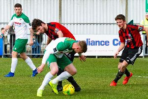 Rocks v Brightlingsea / Picture by Tommy McMillan