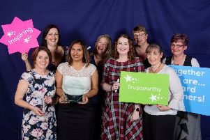 Team members from Heckington Pharmacy. Picture: Chris Vaughan Photography for Lincolnshire Co-op'.