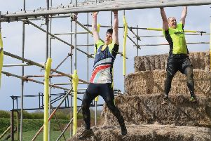 Rough Events charity mud run for St Barnabes Hospice, at Ancaster Leisure Kart Centre. EMN-190415-105054001