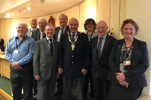The 11 retiring North Kesteven district councillors not seeking re-election. They make up 25 per cent of the council.