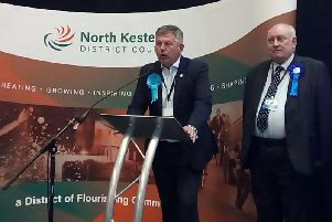 Leader of the Conservatives Richard Wright holds his Ruskington seat.
