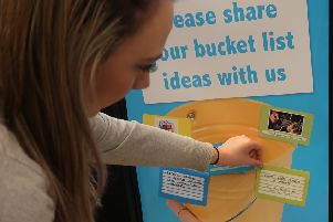 Lincolnshire Co-op asking people for their 'bucket list' ideas for Dying Matters Week. EMN-190905-121256001
